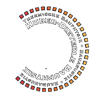 Huber + Dierterle Bauphysik Logo