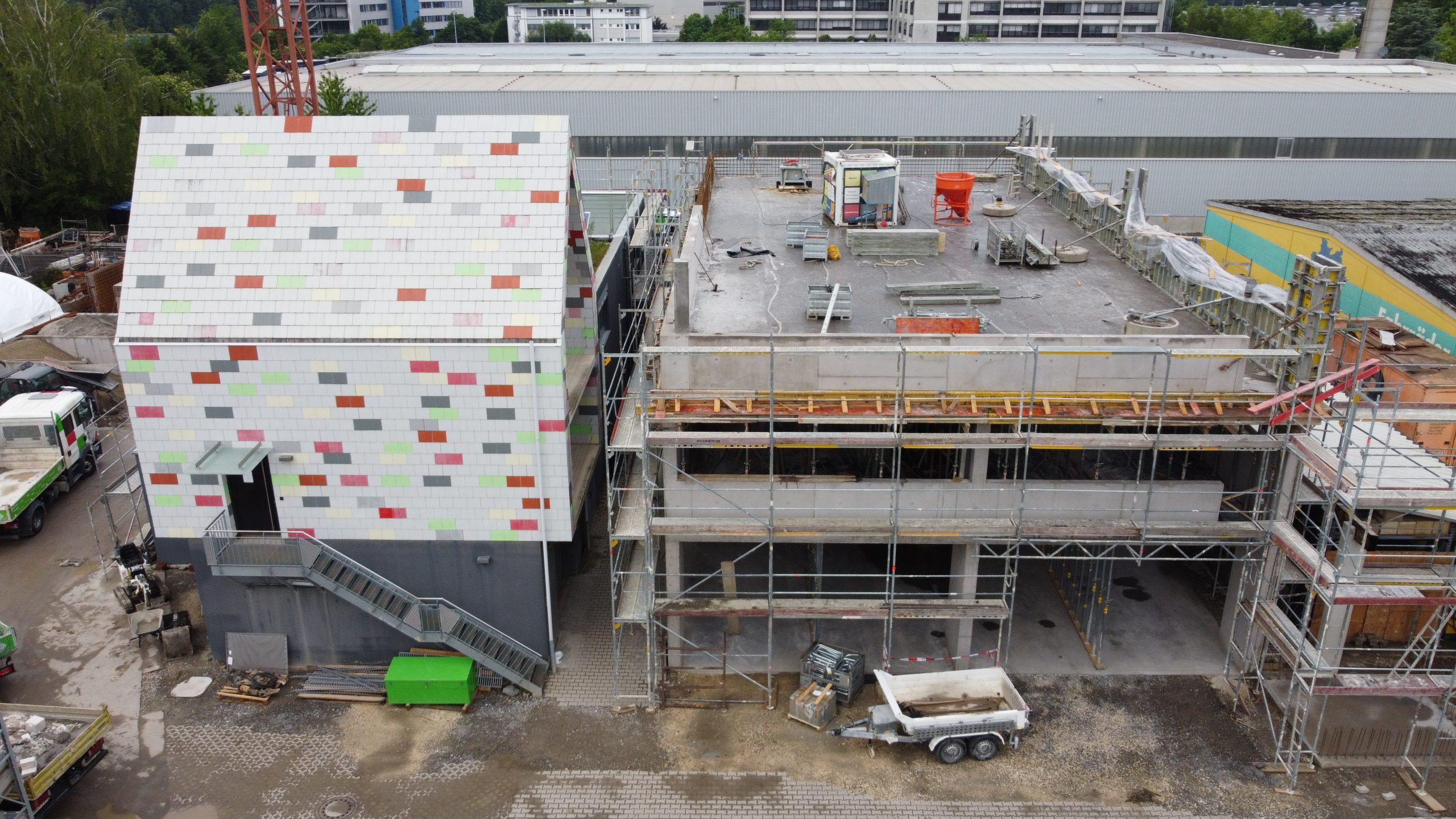 Sanierung und Erweiterung Nichtwohngebäude