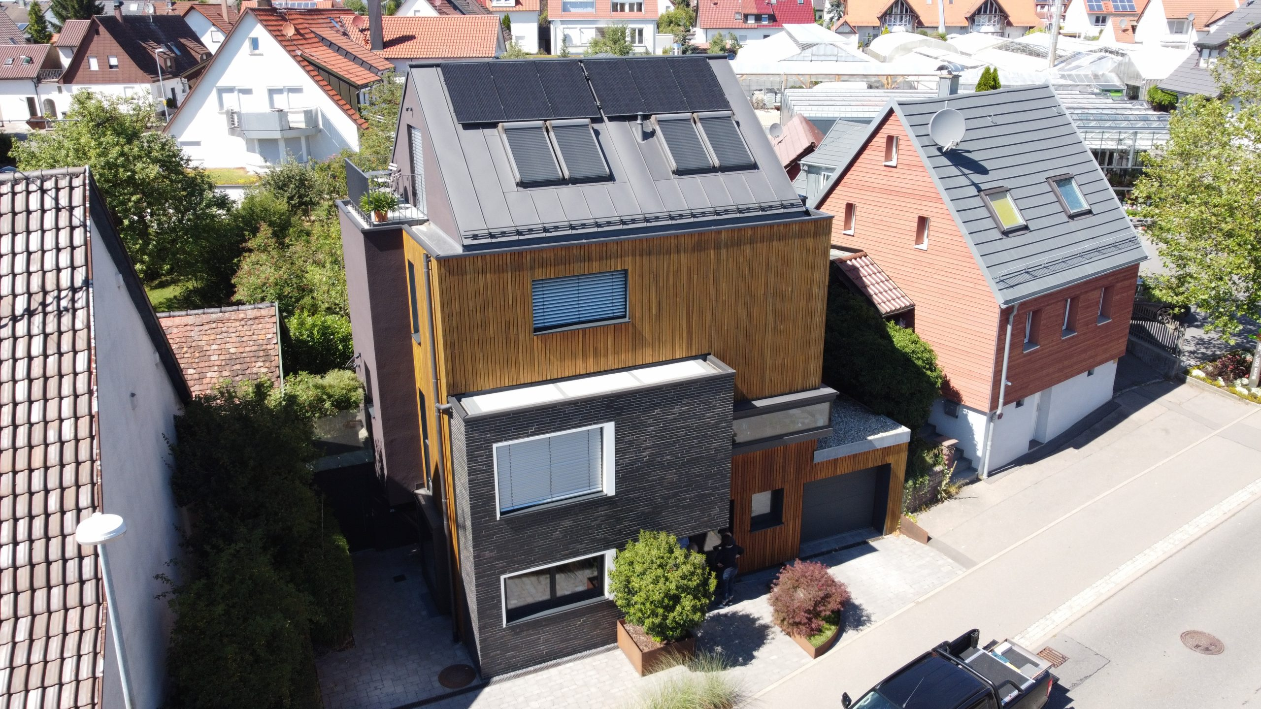 Neubau Effizienzhaus 40 plus